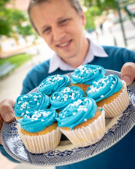 It was a day of cupcakes at care firm Extra Hands to support Alzheimer's Society's awareness raising