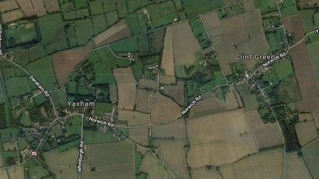 There are plans to build more homes between the villages of Yaxham and Clint Green, south of Dereham