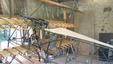 He previously built a Fokker fighter, which he will be flying in the upcoming Great Yarmouth air sho