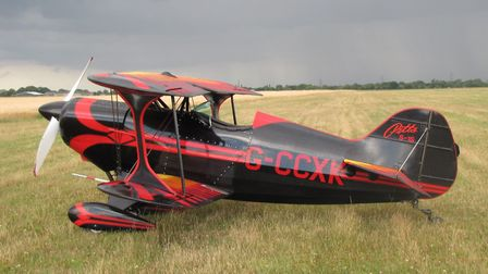 He also owns a Pitts Special, a type of light acrobatic biplane. Photo: Peter Bond