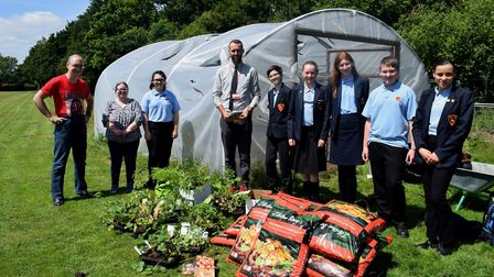 Dereham's community has rallied together to support Neatherd High Schools gardening club after hundr