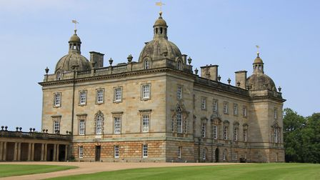 Houghton Hall in its beautiful parkland setting. Photo: Simon Bamber