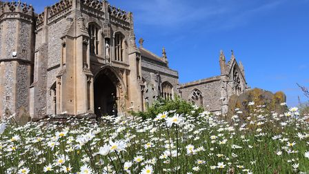 A sunny afternoon exploring a wonderful medieval church. Photo: Andrew Taylor