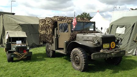 Norfolk Military Vehicle Group display at the Sandringham Game and Coutnry Fair 2017. Picture: Taz Ali