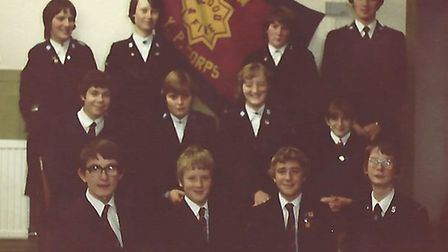Dereham Salvation Army celebrates 135th anniversary. Young peoples band 1972. Picture: SUPPLIED BY D