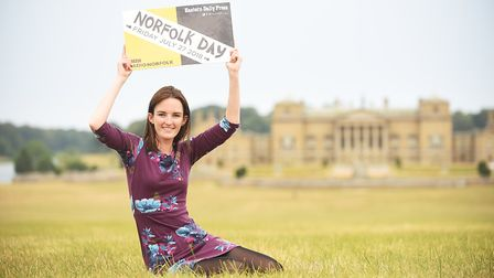 Education Co-ordinator Emily Parker is preparing to celebrate Norfolk Day at Holkham Hall. Photo: IA