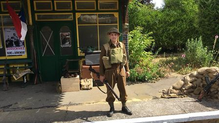 The 1940's Railway at War weekend. Picture: Mark Bailey