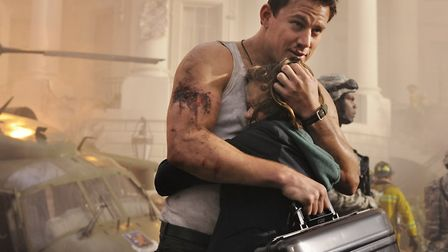 """Channing Tatum star in Columbia Pictures' """"White House Down"""". The actor was rumoured to be in Dereha"""