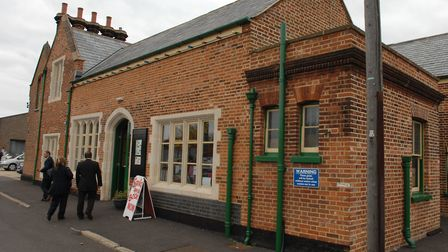 Dereham Railway Station where Channing Tatum was rumoured to be filming for the BBC series Bodyguard
