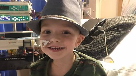 Denver Clinton, who is fighting against a rare form of cancer, received a video message from The Voi
