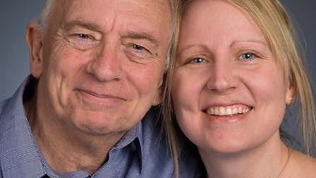 Steve Boddy with his daughter Catherine. Picture: SUPPLIED BY CATHERINE BODDY