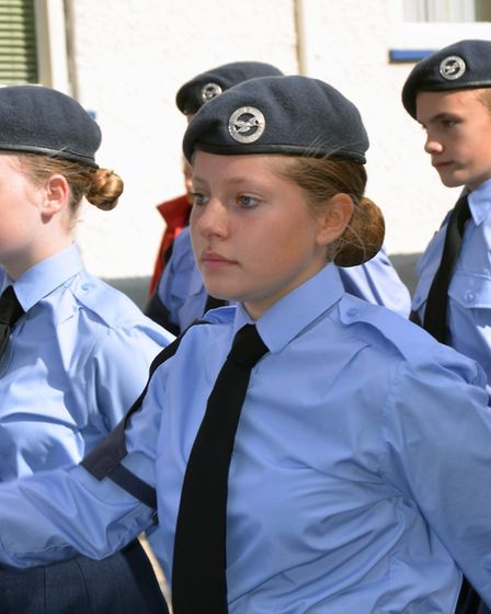 Dereham Battle of Britain memorial parade and service. Pictures: Kitty Lynn
