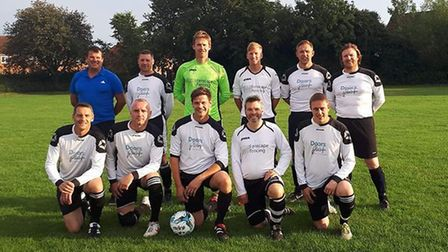 Charity football match to raise funds for poorly Dereham tot Jack Smith. Pictured is the Tavern Old