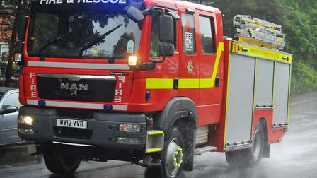 Firefighters were called to a fire in Wells. Picture: Steve Adams