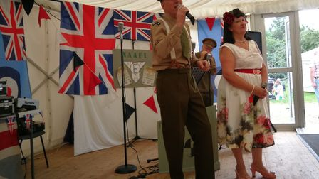 Gressenhall Farm and Workhouse opened its doors for its Village at War event. Pictured is the 1940s