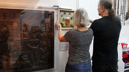 The temporary exhibition, Beer and Brewing: Norfolk's Rural Pubs, is being displayed at Gressenhall