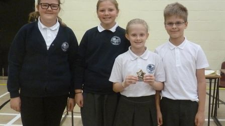 Northgate High School, in Dereham, recently hosted the second annual Primary Team Maths Challenge. P