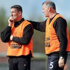 Wayne Anderson, left, and Neil Jarvis are raring to go. Picture: MATTHEW USHER