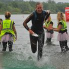 Norwich Triathlon, olympic distance, taking place at Whitlingham. Kim Morrison in action. Photo: Ste