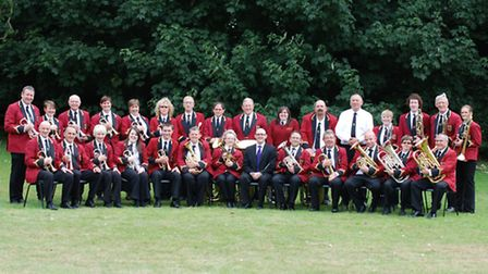 Fakenham Town Band, pictured in 2013