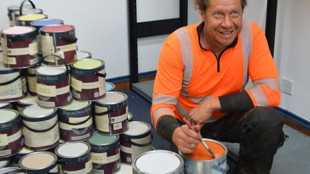 Dereham Community Repaint is a not-for-profit scheme and will be the first in Norfolk to be accredit