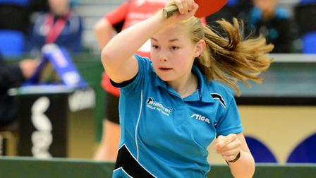 Mollie Patterson in action in Huddersfield. Picture: TREVOR PARSONS