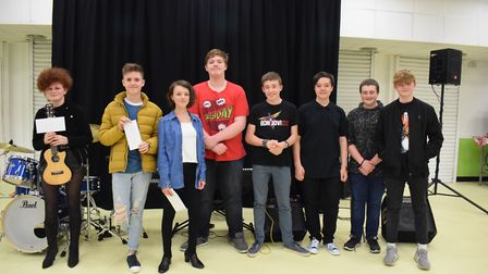 The winners of Neatherds got Talent. Picture: Marion Broughton