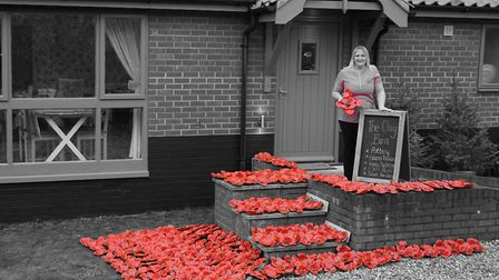 Poppies at the Clay Barn. Pictures: supplied by Lisa Barker