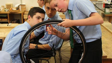 Pupils from Neatherd High School have been involved with the design and technology department's out