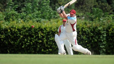 Keegan Monahan-Fairlie top scored for Fakenham with 53 in Saturday's home defeat against Cromer. Pi