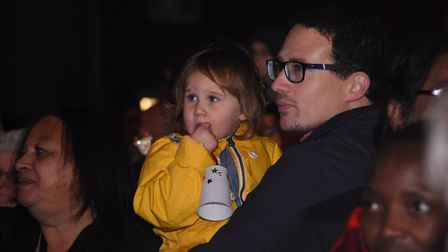 Ready for the Dereham Christmas lights switch on. Picture: DENISE BRADLEY