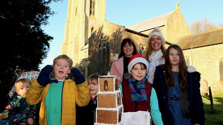 Giant gingerbread replica of Cawston Parish Church annouced as the winner of the showstopper entry f