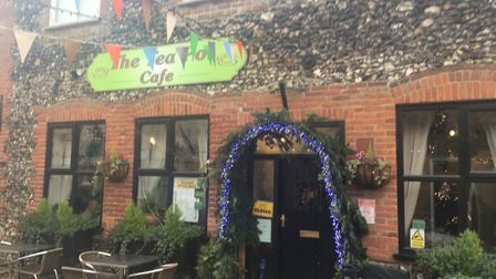 Swaffham's Tea Pot cafe hosted a Christmas dinner. Picture: STUART ANDERSON