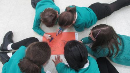 Youngsters from Mattishall Primary School have been working on their support skills as part of a rec