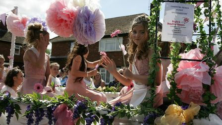 First Dereham carnival for over 20 years, and the whole town was packed with people enjoiyng the eve