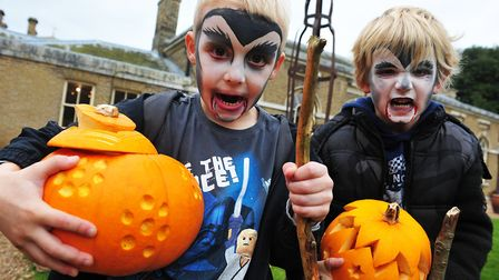 Halloween comes to Holkham Hall. Picture: Ian Watts