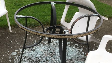 An attempted break-in at the Dereham Rugby Club resulted in criminal damage. Picture: Phil Prangnell