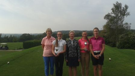 The final of the Young Cup was played at Wensum Valley between Royal Norwich pairs Hope Neild and Jo