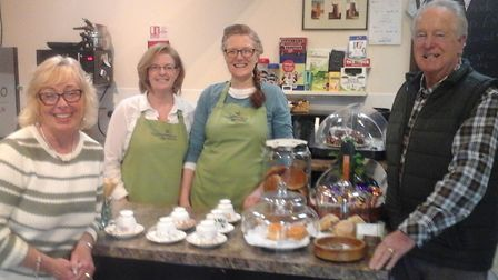 The Partea Hut tearoom is now trading from Dereham Windmill's community hall and coffee shop, off Gr
