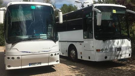 The company have now taken on school bus routes in mid Norfolk. Photo: BUS AND US