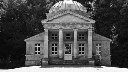 The beautiful temple on the Holkham Estate. Picture: Liz Murton