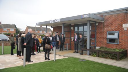 The official opening of the new Fakenham Sixth Form. Picture: Ian Burt