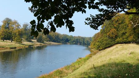 A walk around the lake at Holkham Hall. Pciture: Lesley Buckley