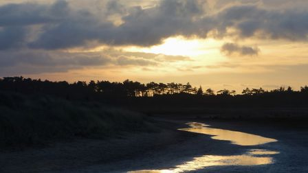 Holkham Bay on a late winters afternoon. Picture: John Daynes