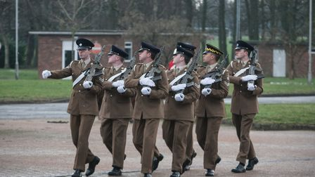 A group of Norfolk soldiers were put through their paces on a selection course at Swanton Morley whi