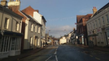 A view of Oak Street, where Pauline Benson was involved in the collision. Photo: Adrian Yallop