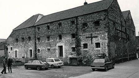 Wells maltings in February 1977. Photo: Archant Library
