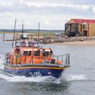 Wells lifeboat and shed.Picture by SIMON FINLAY.