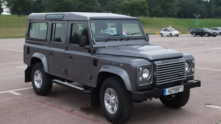A 2016 Land Rover Defender. Photo: Wikipedia/DeFacto