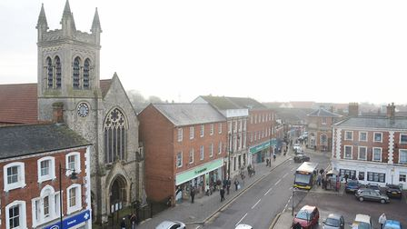 The Works have confirmed they have plans to come to Dereham. Pictured is the town's Market Place. Picture: Ian Burt